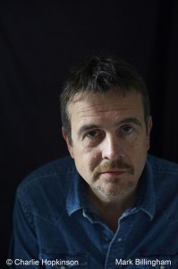Mark Billingham, photographed by Charlie Hopkinson, © 2011